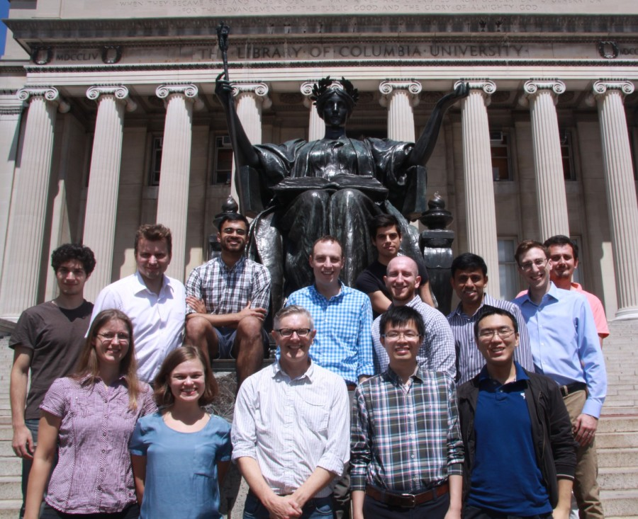 Attendees of the Nanostructure in the City Symposium.